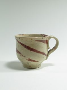 Warren Tippett, mug, agate ware, 1983, Auckland, New Zealand. Collection of Auckland Museum, K6560 Auckland, Kiwi, Agate, Tea Cups, Porcelain, Museum, Pottery, Clay, China