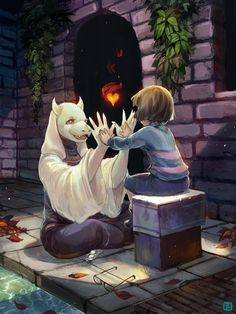 Undertale Charity Art Book Submission by anireal.deviantart.com on @DeviantArt