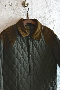 【1980's フランス製 キルティングジャケット】 - 山形、仙台のヨーロッパ古着屋【SQUAT】のWEB SHOP