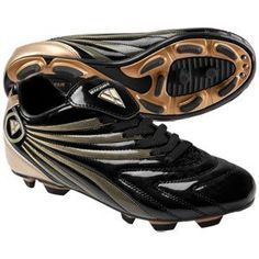 Vizari Youth Milan FG Soccer Cleats by Vizari. $10.00. Youth Milan FG Soccer Cleats Vizari Youth Milan FG Soccer Cleats feature: Soft performance synthetic leather is highly responsive Lightweight, durable upper provides tough performance Water resistance keeps you playing your best in any condition Stitched at the front to the upper for shoe longevity Riveted for added durability Cleated PU traction ideal for use on firm natural surfaces Colors: Black/Gold Sizes: 1-5 (who...