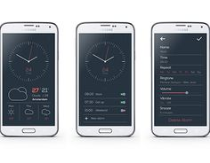 "Check out new work on my @Behance portfolio: ""Clock App"" http://be.net/gallery/31556177/Clock-App"