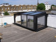 Click For Larger View - CHTL: Raised Roof Garden Access Enclosure