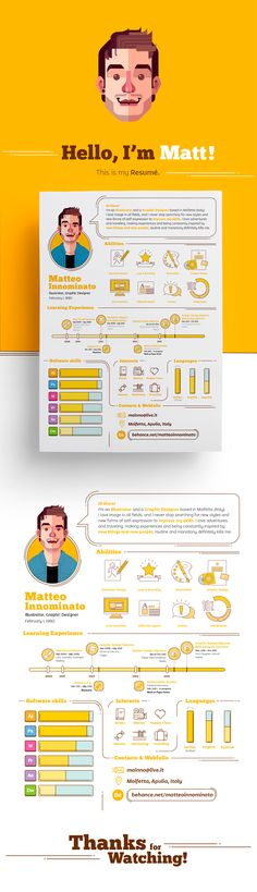 My Resumé on Behance                                                                                                                                                                                 More