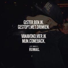 Comeback #rumag