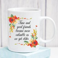 New Year Sale Friendship Gift Ideas For Woman Long Distance Best Friends Birthday Christmas Present Women Good And Time Floral C