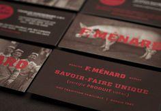 F. Ménard |Branding on Behance