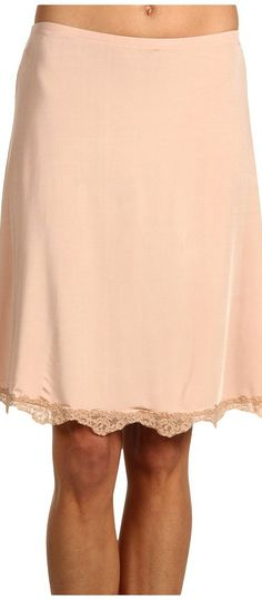 Hanky Panky Silky Skin Half Slip w/ Lace (Mocha) Women's Lingerie - Hanky Panky, Silky Skin Half Slip w/ Lace, 8639, Clothing Women's Lingerie Slips, Lingerie, Bottom, Apparel, Clothes Clothing, Gift, - Fashion Ideas To Inspire