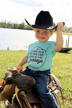 Babies be Cowboys- Kids - Babies be Cowboys- Kids – The Coyote Cowgirl Source by - Baby Boy Cowboy, Little Cowboy, Camo Baby, Cowboy Outfits, Baby Boy Outfits, Kids Outfits, Cute Kids, Cute Babies, Baby Kids