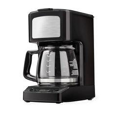Kenmore 5-cup Black Digital Coffee Maker -- Learn more by visiting the image link. #CoffeeMakers