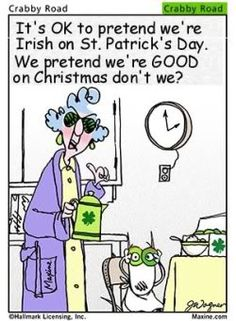 St Patty funny