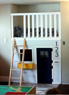 Puistolassa.: Lastenhuoneen sängyt - inspiraatiota