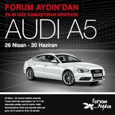 Forum Aydın AVM Audi A5 Çekiliş Kampanyası  http://www.kampanya-tv.com/2013/05/forum-aydn-avm-audi-a5-cekilis-kampanyas.html