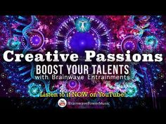 """Quick Boost to Unlock Creativity - 420.83Hz Frequency to """"Turn On Your Creative Passion"""" - YouTube"""