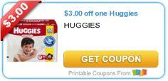 $3.00 off one Huggies