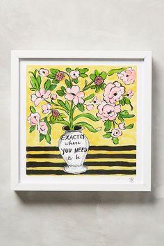 High Spirits Wall Art - anthropologie.com