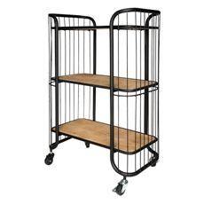 Savoy 3 Tier Kitchen Trolley | freedom Furniture and Homewares