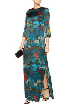Alice + OliviaChristi Bell printed silk maxi dress