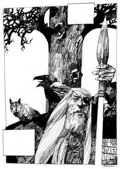 SERGIO TOPPI, Leggende celtiche