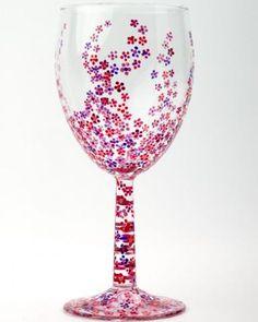75a8d0edfa4 Flowers  handpainted  paintedglass  DIY  decorativepaint