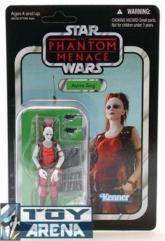 star war the phantom menace unpunched aurra sing vc73 #transformer