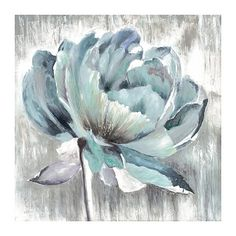 Shop for Portfolio Canvas Decor Glory Mixed Blues by Sandy Doonan Wrapped Canvas Wall Art. Get free delivery On EVERYTHING* Overstock - Your Online Art Gallery Store! Blue Canvas Art, Canvas Art Prints, Canvas Wall Art, Abstract Flowers, Acrylic Art, Canvas Frame, Canvas Size, Flower Art, Graphic Art
