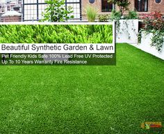 Beautiful Synthetic Lawn : Buy Quality Synthetic Grass Online click the image. Beautiful Home Gardens, Beautiful Homes, Synthetic Lawn, Grass, Home And Garden, Plants, Ebay, Image, House Of Beauty