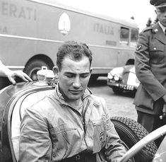 Stirling sur Maserati.