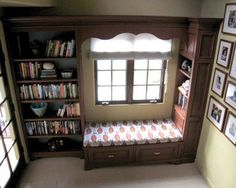 A Thoughtful Place: Reading Nooks: A Cozy Place to Unwind Book Nooks, Reading Nooks, A Thoughtful Place, My Little Corner, Nook And Cranny, Cozy Nook, Cozy Place, Elle Decor, The Book