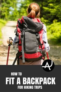 How To Fit A Backpack For Hiking – Best Hiking Backpacks – Packing Tips For Backpacking – What To Pack For Hiking – Hiking Gear For Women, Men and Kids via @theadventurejunkies