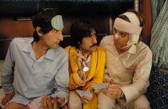 Still from The Darjeeling Limited, 2007