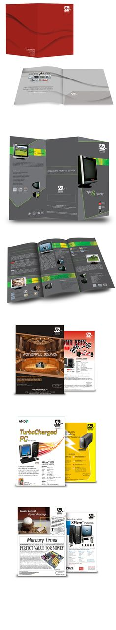 Product Catalogue Design for Mercury by falcon ideas