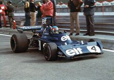 Patrick Depailler in the 1974 version of the Tyrrell 006