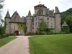 Château de Pesteils . Auvergne