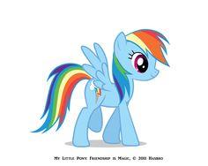 Melinda Rose – 3d Artist» My Little Pony: Rainbow Dash