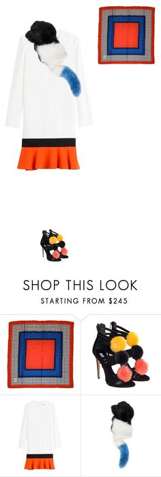 """""""Untitled #52"""" by nc-young ❤ liked on Polyvore featuring Yves Saint Laurent, Ninalilou, Emilio Pucci and Charlotte Simone"""