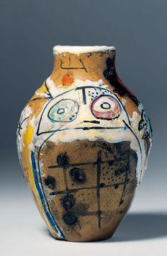 Joan Miro Vase - Joan Miró i Ferrà, born 20 April 1893 – 25 December 1983) was a Spanish painter, sculptor, and ceramicist born in Barcelona. A museum dedicated to his work, the Fundació Joan Miró, was established in his native city of Barcelona in 1975, and another, the Fundació Pilar i Joan Miró, was established in his adoptive city of Palma de Mallorca in 1981.