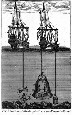 Edmund Halley's 17th Century Diving Bell