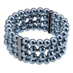 Pearl 4 strand Grace Adele bracelet  rgarrard.graceadele.us