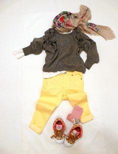 YELLOW OKAIDI 2013 on www.fiammisday.com  Outfit for kids