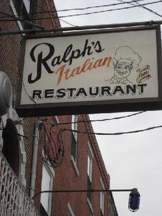 Ralph's in the Italian Market....feel a little bit like I am in an episode of The Soprano's when I eat here, but it's pretty tasty!