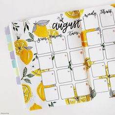 lemons fruit pretty bullet journal bujo planner ideas for weekly spreads studygr. lemons fruit pretty bullet journal bujo planner ideas for weekly s Bullet Journal Monthly Spread, Bullet Journal 2019, Bullet Journal Notebook, Bullet Journal Themes, Bullet Journal Inspiration, Bullet Journals, Best Bullet Journal Pens, Bujo Monthly Spread, Bullet Journal Quotes