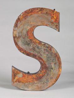 """Big letter """"S"""""""