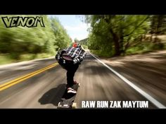 SERIOUSLY!!!!!! Zak Maytum bombs down one of the fastest runs in Colorado with speeds approaching 70 mph.