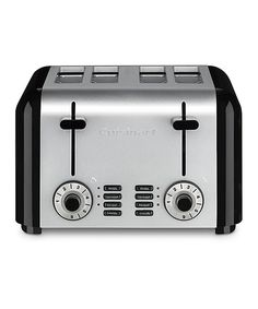 Another great find on #zulily! Brushed Stainless Steel Four-Slice Hybrid Toaster by Cuisinart #zulilyfinds