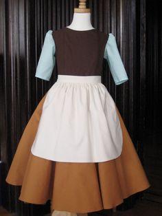 Cinderella maid costume, I can easily make and find these pieces Diy Cinderella Costume, Cinderella Outfit, Cinderella Party, Cute Costumes, Disney Costumes, Cosplay Costumes, Costume Ideas, Disney Dress Up, Disney Princess Dresses