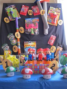 Super Mario Brothers Birthday Party Ideas | Photo 13 of 14