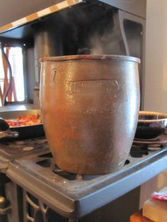 """How To Preserve Meat With A Crock   - There is a very old method of preserving some types of meat and fish known as """"potting"""" or """"crocking"""". It is a non-electric method of meat and fish preservation that was widely prevalent before the advent of home canning.  Potting or crocking meat and fish is a method that is no longer recommended by the USDA because of the potential for botulism food poisoning. But in many areas of the world, especially France, it is a method that is still widely…"""