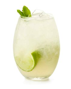 Invite a breath of summer into the usual Moscow mule by making it with melon-mint vodka. #marthastewart #recipes #recipeideas #drinkrecipes #drinkideas #fundrinkrecipes