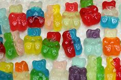 bears, blue, candy, cute, green, gummi bears