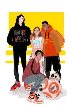 a new generation - Finn Star Wars - Ideas of Finn Star Wars - a new generation Rey Star Wars, Star Wars Baby, Finn Star Wars, Star Wars Fan Art, Reylo, Starwars, Star Wars Zeichnungen, Finn Poe, Star Wars Shoes